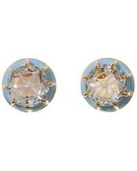 Lele Sadoughi - Light Blue Spotlight Earrings - Lyst