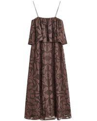 By Malene Birger Cipella Lace Maxi Dress - Brown