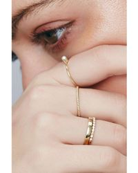 Otiumberg Twist Ring In Gold - Metallic