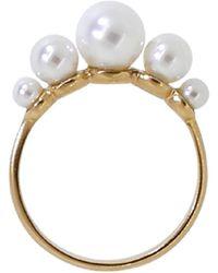Irene Neuwirth Pearl Ring - Metallic