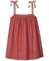 Lake Nantucket Day Dress - Red