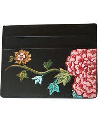 Alepel English Porcelain Black Cardholder