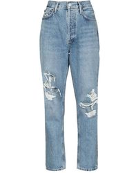 Agolde Fen Straight Jean - Blue