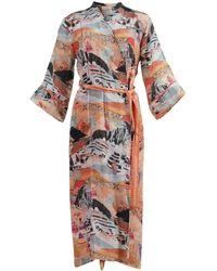 Chufy Multicolored Moray Long Robe