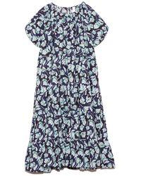 Merlette - Alegre Dress In Blue Floral Print - Lyst