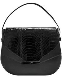 Khirma Eliazov Black Deedee Saddle Bag