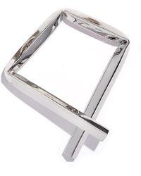 Proenza Schouler - Rhodium Small Square Bracelet - Lyst