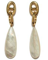 Lizzie Fortunato - Groto Drop Earrings In Pearl - Lyst