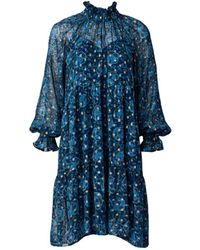 Sea Positano Dress - Blue