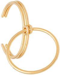 Charlotte Chesnais | Gold 'three Lovers' Bracelet | Lyst
