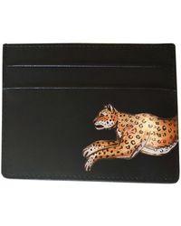 Alepel Leopard Black Cardholder