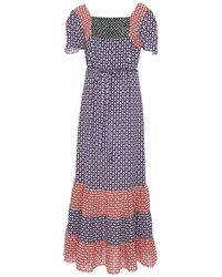 Duro Olowu - Multicolor Novelty Print Patterned Dress - Lyst