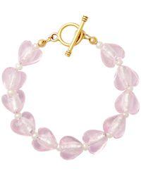 Brinker & Eliza Forever Young Bracelet - Pink