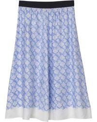 By Malene Birger Biella Skirt - Blue