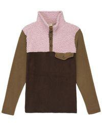 DONNI. Tri-fleece Pullover - Pink
