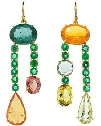 Irene Neuwirth One Of A Kind Earrings - Multicolor