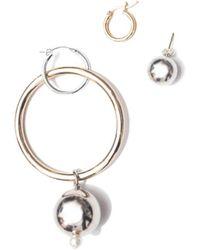 Mounser Jewelry - Silver Solstice Earring - Lyst