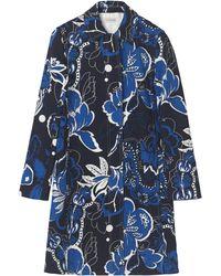 By Malene Birger Maudea Cotton Florence Outerwear - Blue