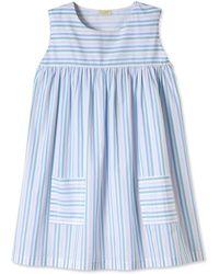 Lake Verbena Summer Dress - Blue