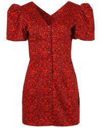 LHD Pedra Bonita Dress - Red