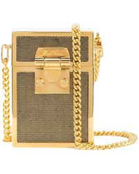 Mark Cross - Gold Nicole Box Bag - Lyst