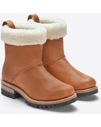 Feit - Shearling Boot - Lyst
