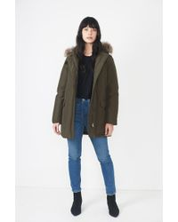 Woolrich - Arctic Fur-Trimmed Down Parka - Lyst