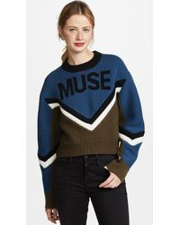 Zadig & Voltaire - Muse Runway Pullover - Lyst