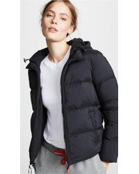 James Perse - Fleece Lined Puffer Jacket - Lyst
