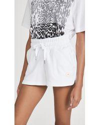adidas By Stella McCartney Sweat Shorts - White
