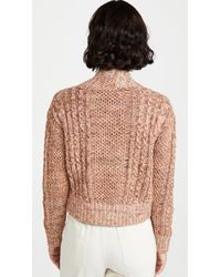 The Great The Cable Montana Cardigan - Multicolour
