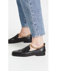 BY FAR Nick Loafers - Black