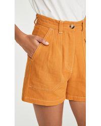 L.F.Markey Manuel Shorts - Orange