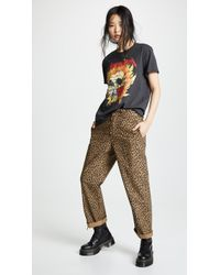R13 Slouch Pants - Brown