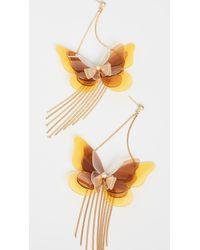 Zimmermann Butterfly Tassel Earrings - Multicolour