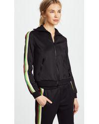 Pam & Gela - Track Jacket With Stripes - Lyst