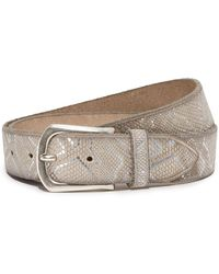 B. Belt - Embossed Metallic Belt - Lyst