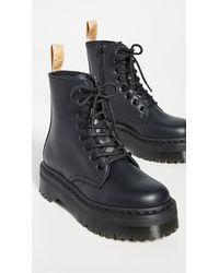 Dr. Martens Vegan Jadon Ii Mono 8 Eye Boots - Black
