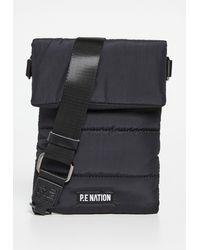 P.E Nation Courtside Pouch Bag - Black