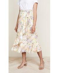 Yumi Kim Novella Wrap Skirt - Multicolor