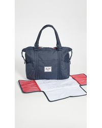 Herschel Supply Co. Strand Sprout Diaper Bag - Blue