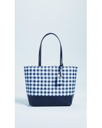 Kate Spade - Hyde Lane Gingham Riley Tote - Lyst