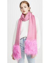 Heurueh Rockz Muffler Scarf - Pink