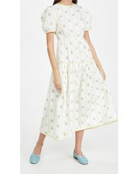 Glamorous Floral Dress - White