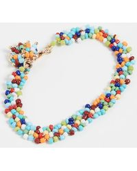 Roxanne Assoulin Sprinkle Beaded Bracelet - Blue