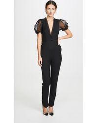Macgraw Crepe Suzette Jumpsuit - Black