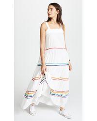 9seed - Sayulita Tier Maxi Dress - Lyst