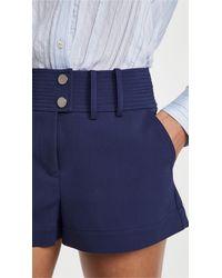 Ramy Brook Duncan Shorts - Blue