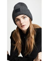 cc5e05b01e0 Lyst - Acne Studios Pansy N Face Hat in Brown