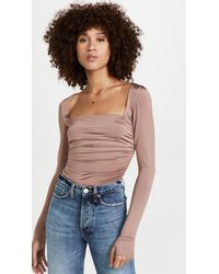 Free People Wind Down Layering Top - Multicolour